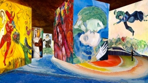 Chagall in mostra a Milano