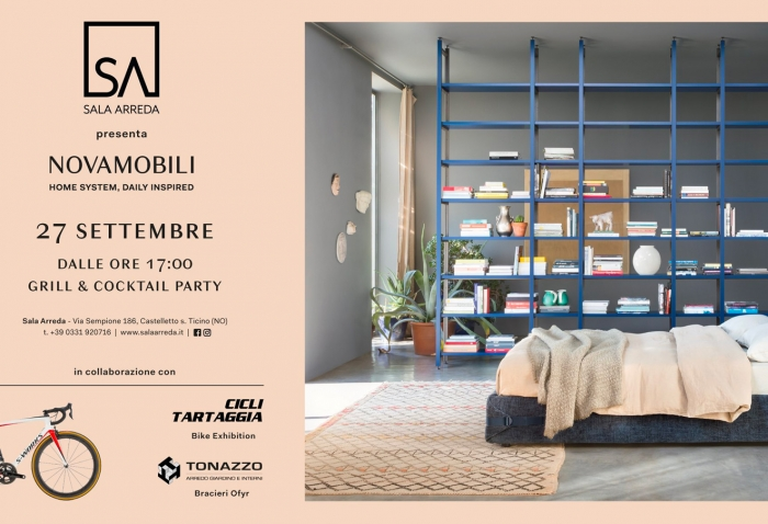 Sala Arreda: Home System, Daily Inspired