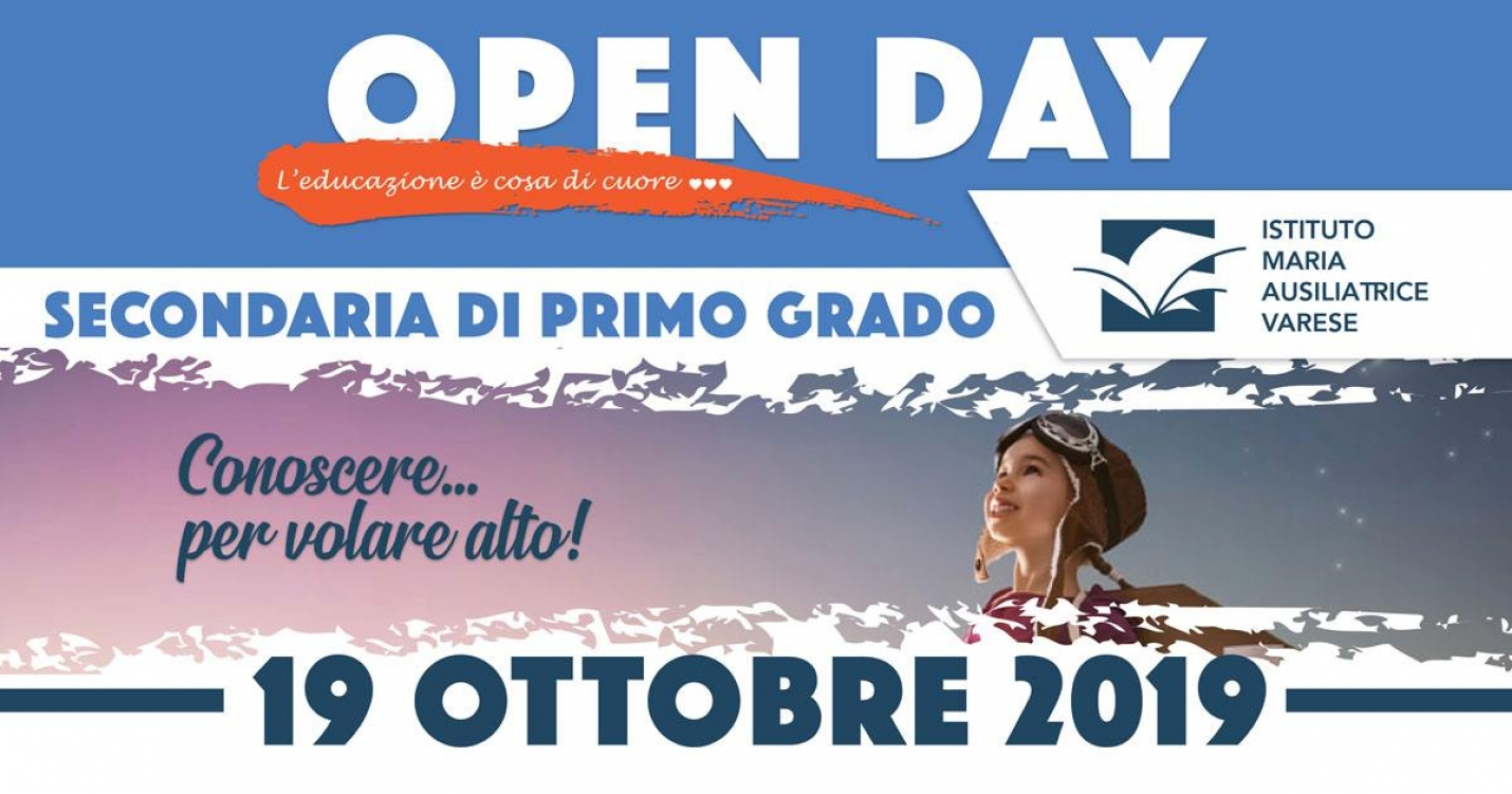 Open Day per la Secondaria di Primo Grado